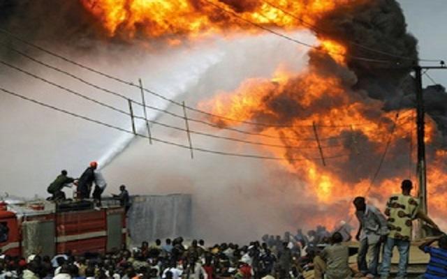 Gas Tanker in Nigeria Explodes, Killing Dozens