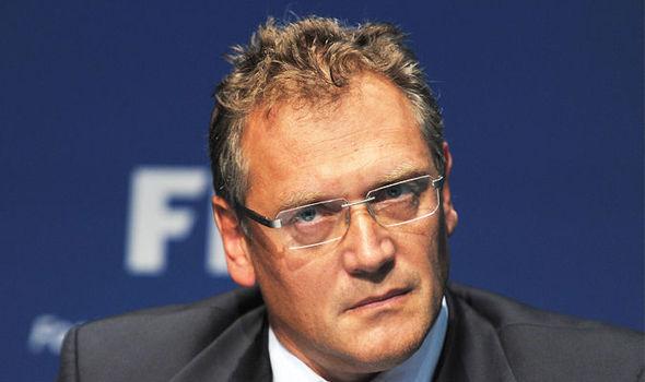 FIFA sacks Secretary General, Jerome Valcke