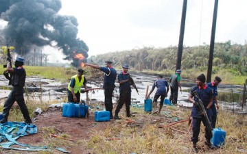 106 illegal refineries destroyed in Bayelsa in 2015