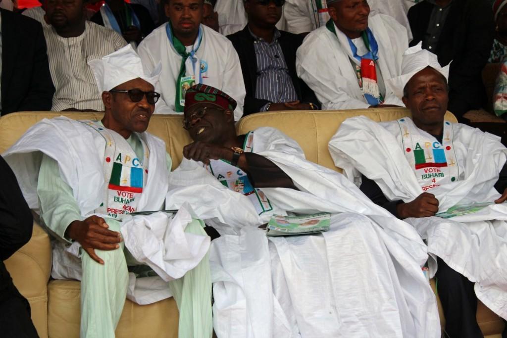Tinubu denies saying PDP will stop Buhari in 2019