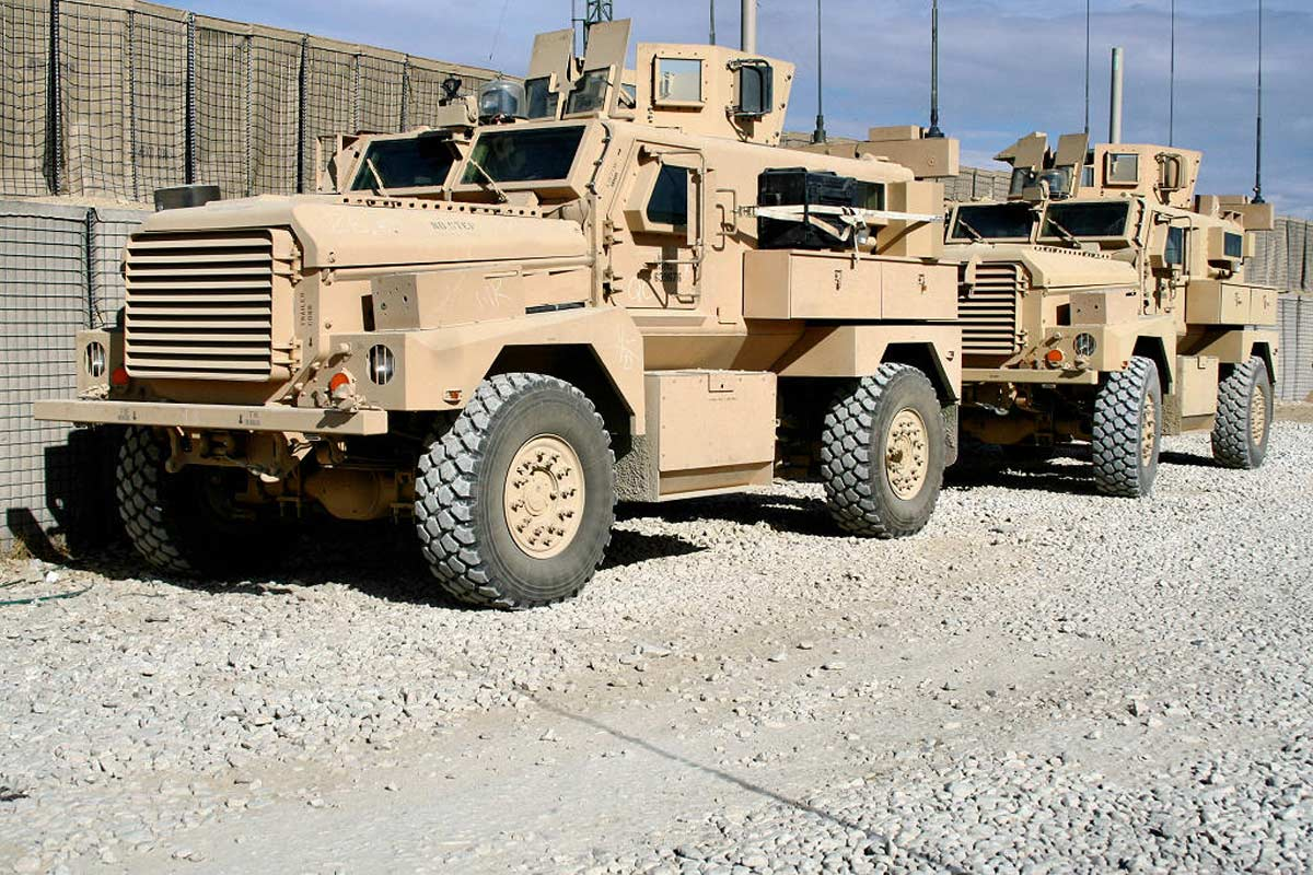 US Donates 24 Mine Resistant War Machines To the Nigerian Army