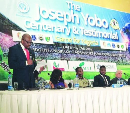 Moyes, Rooney, Drogba, others for Yobo Testimonial