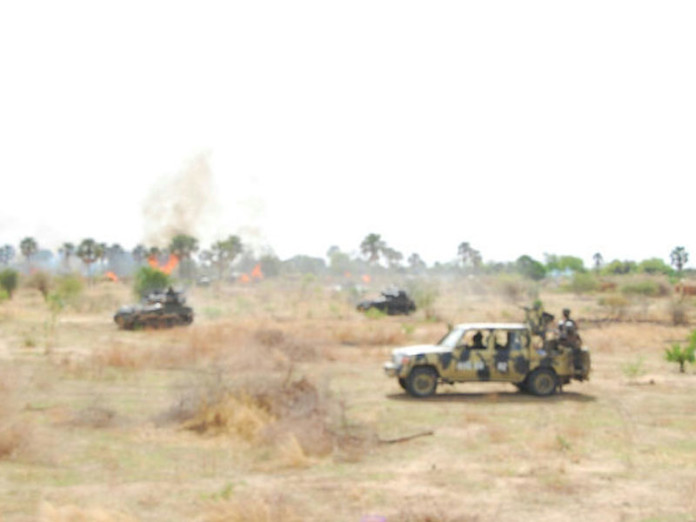Troops Clear Njimia Camp in Sambisa Forest