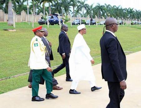 Shugaban kasa Muhammadu Buhari ya tashi daga Abuja zuwa N'Djamena